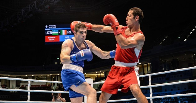We'll Leave It There So: Irish boxer qualifies for Rio, O'Brien cited and today's sport