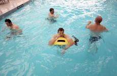 In pictures: Irish players hit the pool for recovery session