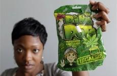 Marijuana-shaped sweets spark outrage