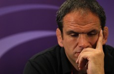 Quittin' time? Martin Johnson has seven days to decide on England future