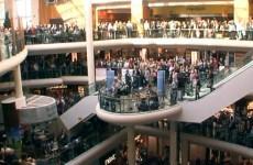 Flash mob sings Hallelujah in Dundrum
