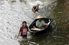 In photos: Bangkok residents flee rising floodwater