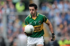 Kerry's O'Mahony played with broken leg out of 'fear'
