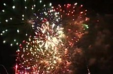 WATCH: €7,000 of fireworks let off all at once… by accident