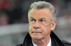 Legendary German coach Hitzfeld tips Ireland to overcome Estonia