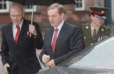 In full: Taoiseach Enda Kenny's speech at Presidential inauguration