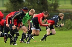 Horan ready for Munster return