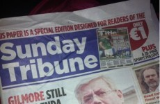 Irish Mail on Sunday editor defends Sunday Tribune masthead cover