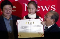 Vladimir Putin wins peace prize in China