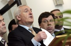 Higher pension levy hits Ahern and Cowen – by €80 a week