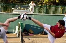 Ireland seventh in Europe… in footballtennis