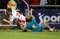 Ulster secure bonus point in Aironi rout