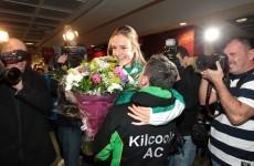 Homecoming queen: Golden girl Britton returns home to Ireland