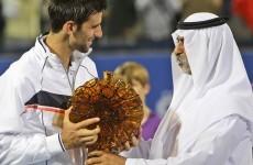 Djokovic claims Abu Dhabi crown, Murray joins up with Lendl