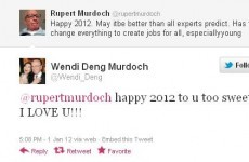 Update: 'Wendi Deng' Twitter account revealed as fake