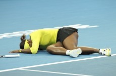 Serena withdraws from Brisbane International with injured ankle