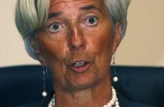 Lagarde: The euro will survive 2012