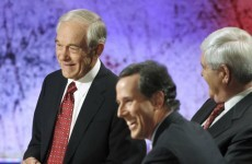 Brutal! Republican candidate Ron Paul's ad rips into rival Santorum