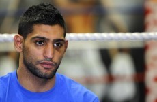 Khan offered rematch as mystery official is named