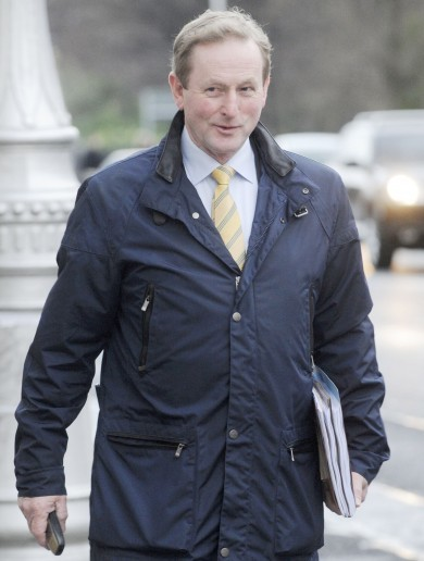 Caption competition: What's Enda thinking about?