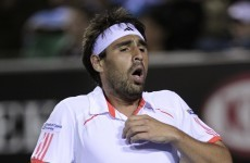 Here's a possible explanation as to why Baghdatis lost the rag the other day