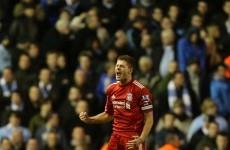 Not won yet: Gerrard warns Reds must raise their game