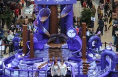 In pictures: The best 9-metre high chocolate fountain you'll see today