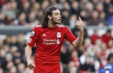 Staying put: Carroll has no wish to leave Liverpool