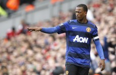 Man bailed following police investigation into Evra 'gesture'