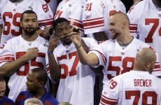 Super Bowl XLVI: Introducing… The New York Football Giants