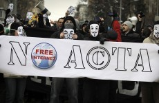 In pictures: Anti-ACTA protests held across Europe