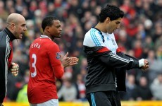 United accept Suarez apology for Evra non-handshake