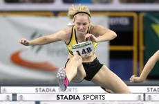 O'Rourke wins national indoor title, but promises improvement