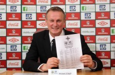 Michael O'Neill coaxes Hughes out of retirement for first game in charge