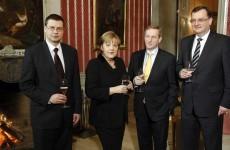 Taoiseach meets Angela Merkel and 'Super Mario'