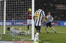 Buffon didn't see Muntari ghost goal, apparently