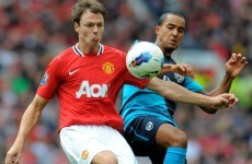 Evans out to end Spurs challenge with United win