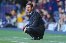 Going going gone: Villas Boas sacked by Chelsea