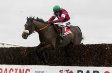 Running Sacre-d: Peddlers Cross and Bog Warrior pull out of Arkle