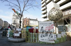 'The camp will continue' – Occupy Dame St vows to stay for Patrick's Day parade