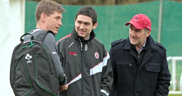 Caption time: when ROG met Mickey Harte…
