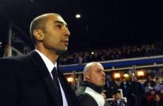 Di Matteo defends Chelsea team selection