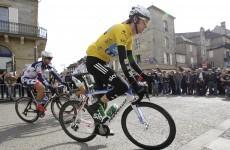 Meersman takes stage, but Wiggins retains lead