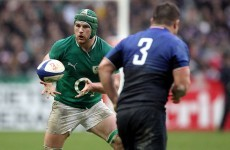 SOB off: Peter O'Mahony will start against Scotland