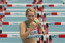 Derval progresses to 60m semi-final but O'Lionaird bows out of World Indoors
