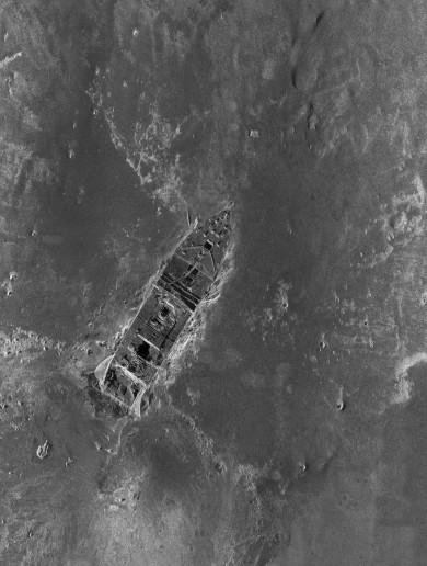 The ocean floor pics that show how the Titanic sank