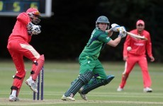 Sticky wicket: Ireland come up short against Namibia