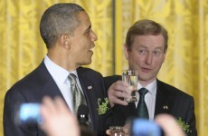 In pictures: Taoiseach rounds off US trip with shamrock presentation