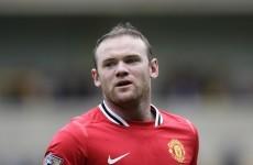 Off target: Rooney breaks nine-year-old's wrist with wayward shot