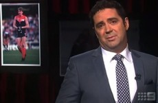 Watch: Garry Lyon's incredibly emotional tribute to his friend Jim Stynes